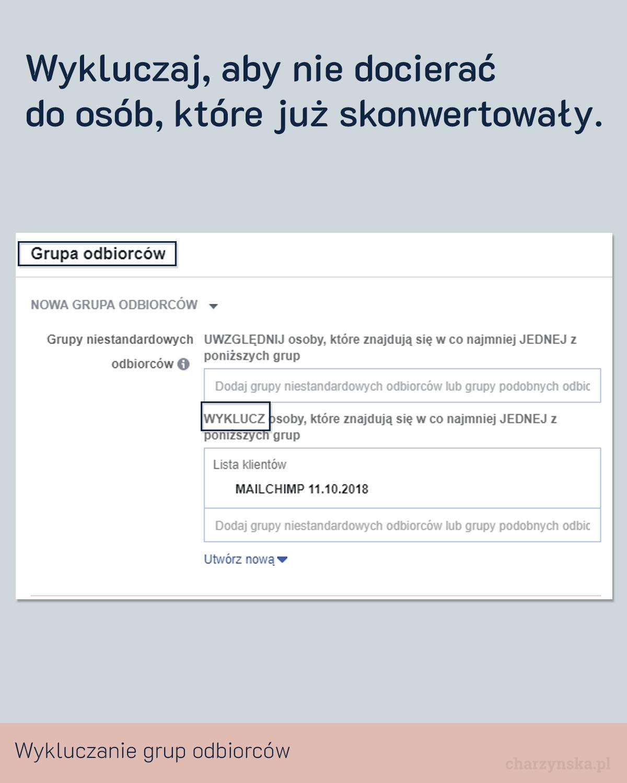 Jak zoptymalizować reklamy na Facebooku? Pkt 12