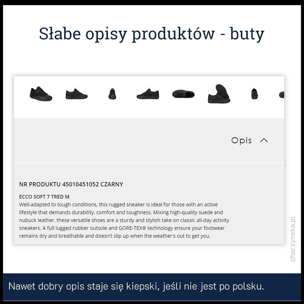 jak pisać opisy produktów - przykład 4