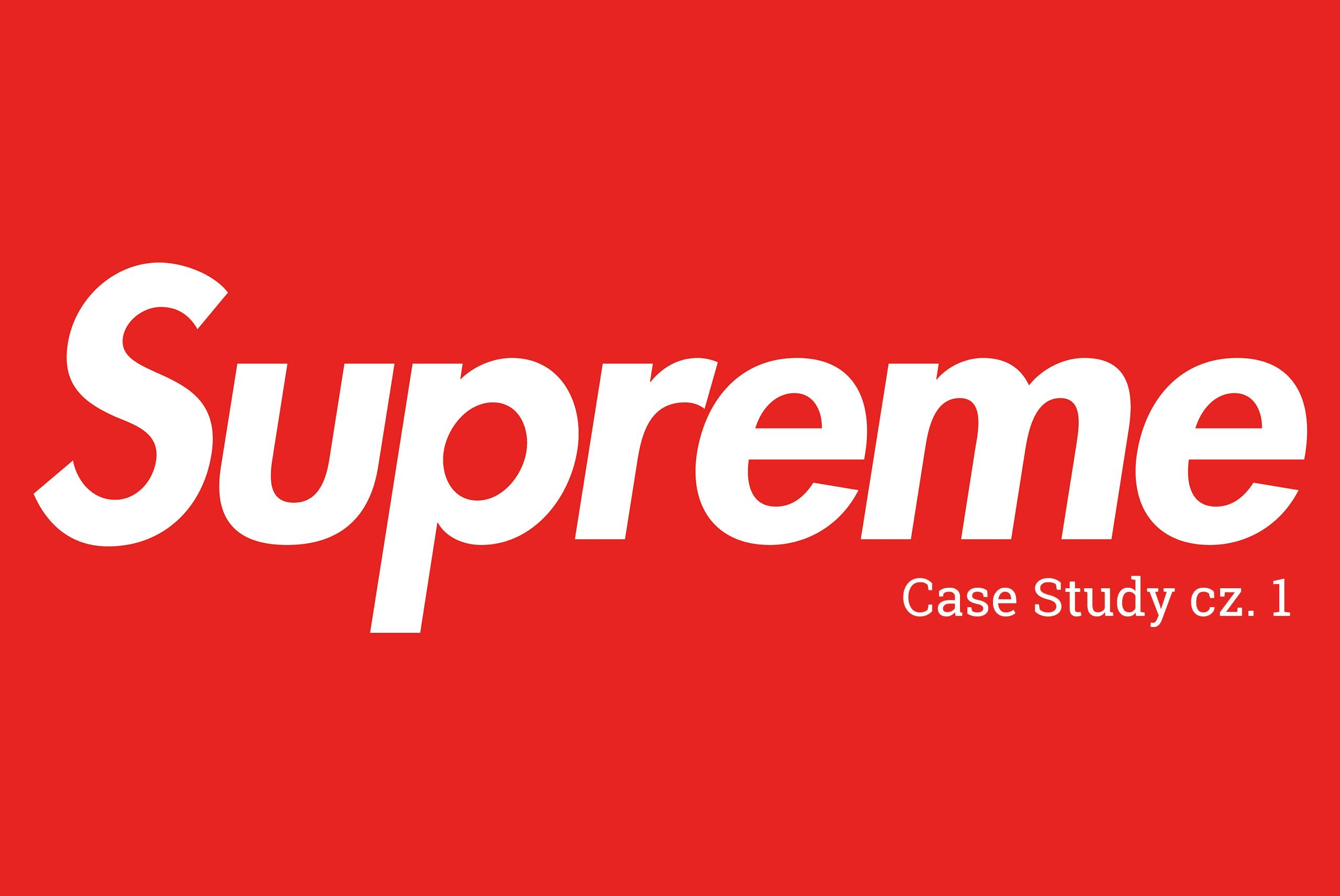 supreme czemu jest popularne cz. 1