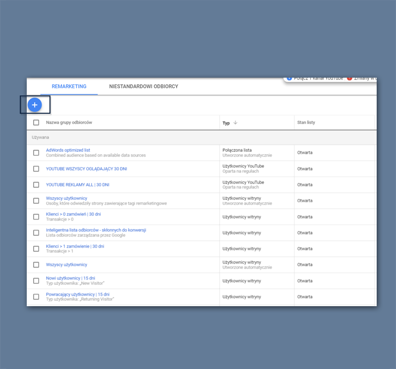 Google Ads Optymalizacja - RLSA