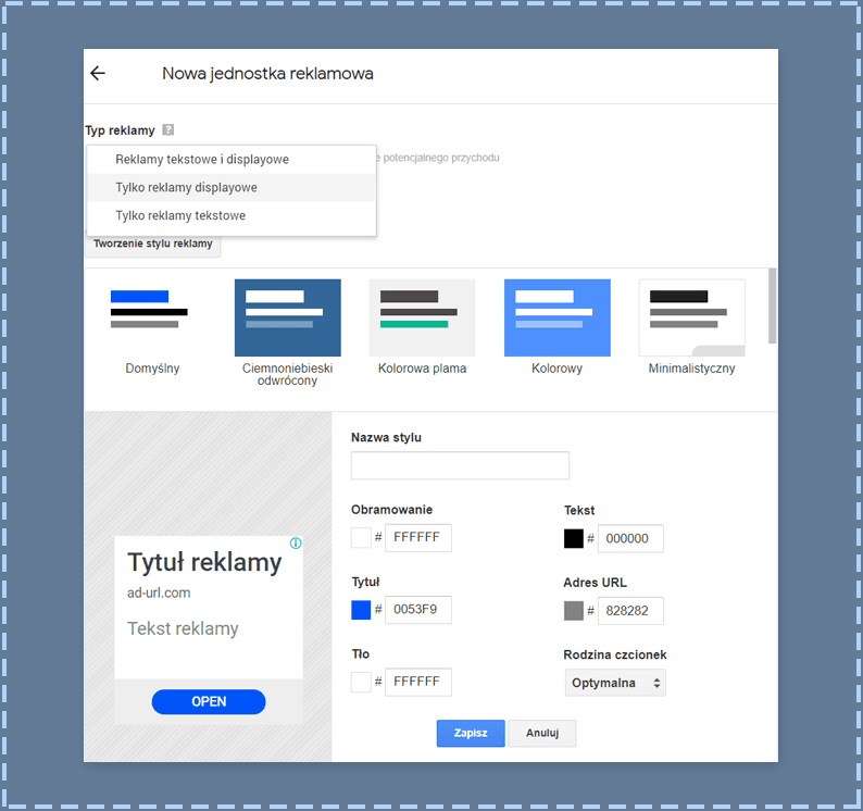 AdSense - dodawanie reklam do WordPressa