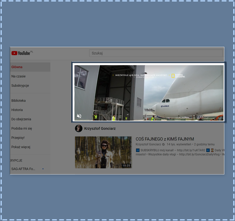 AdSense - reklama wideo