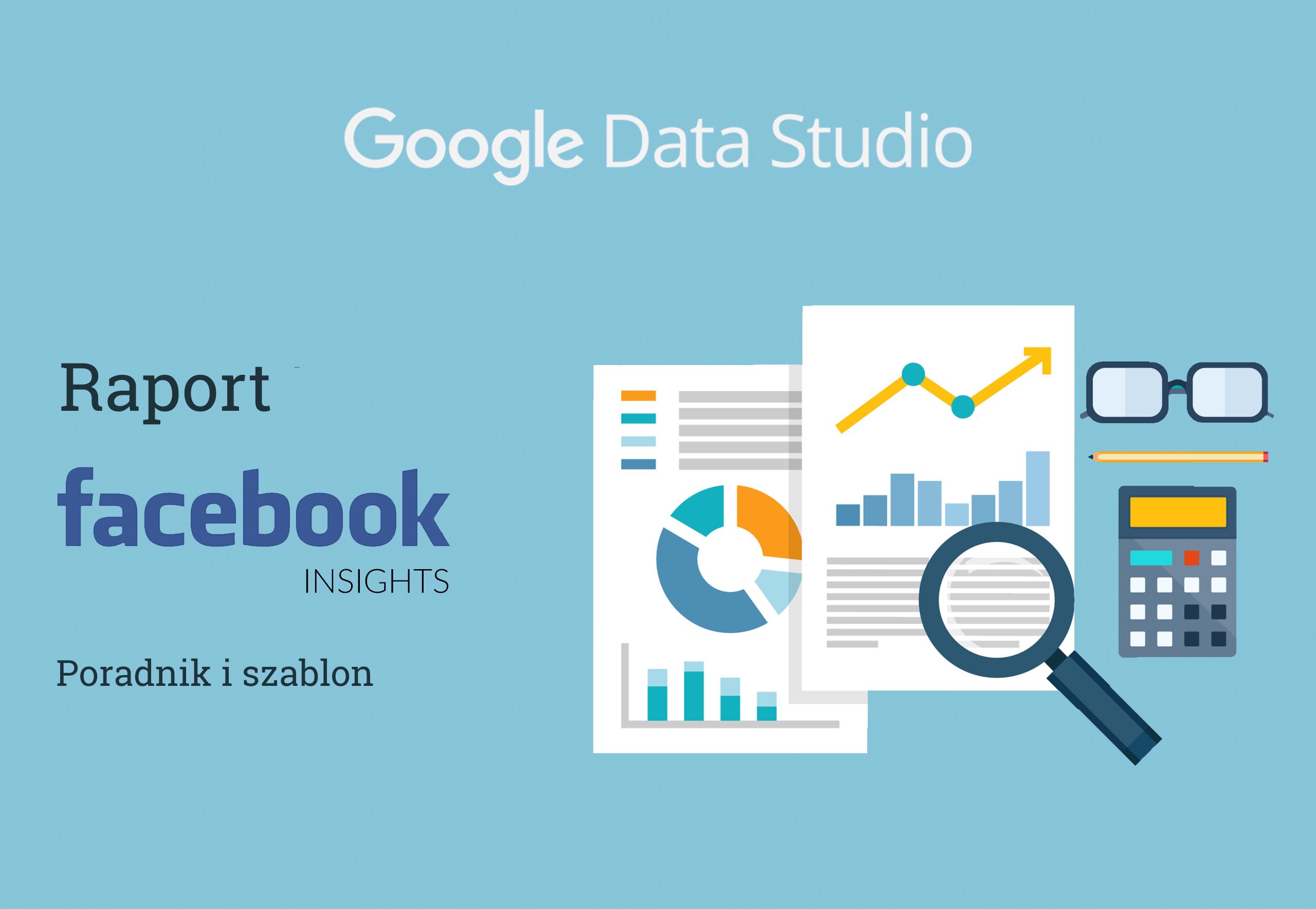Google Data Studio Raport Facebook Fanpage Cover