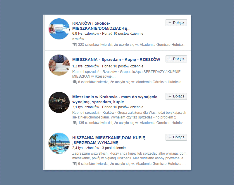 Jak wypromować lokalną firmę w internecie? Grupy FB