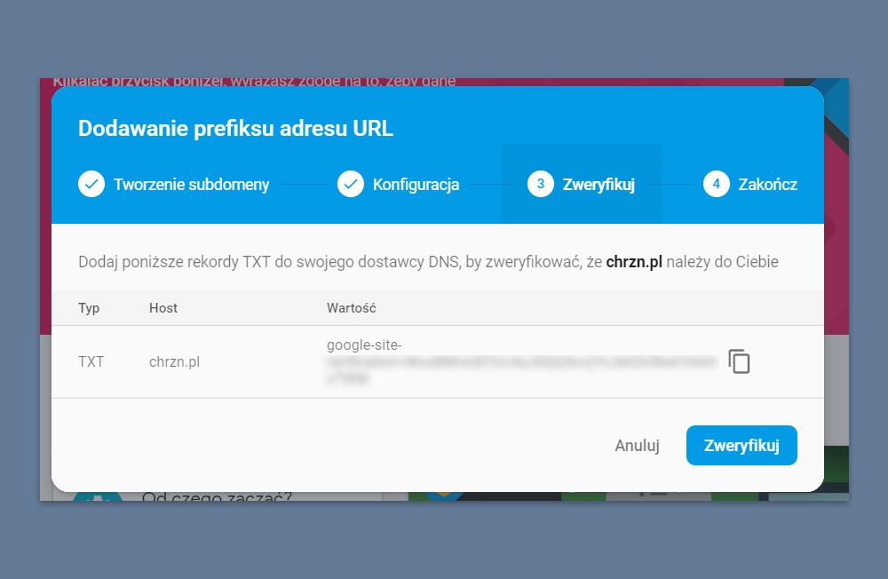 własny skracacz domena
