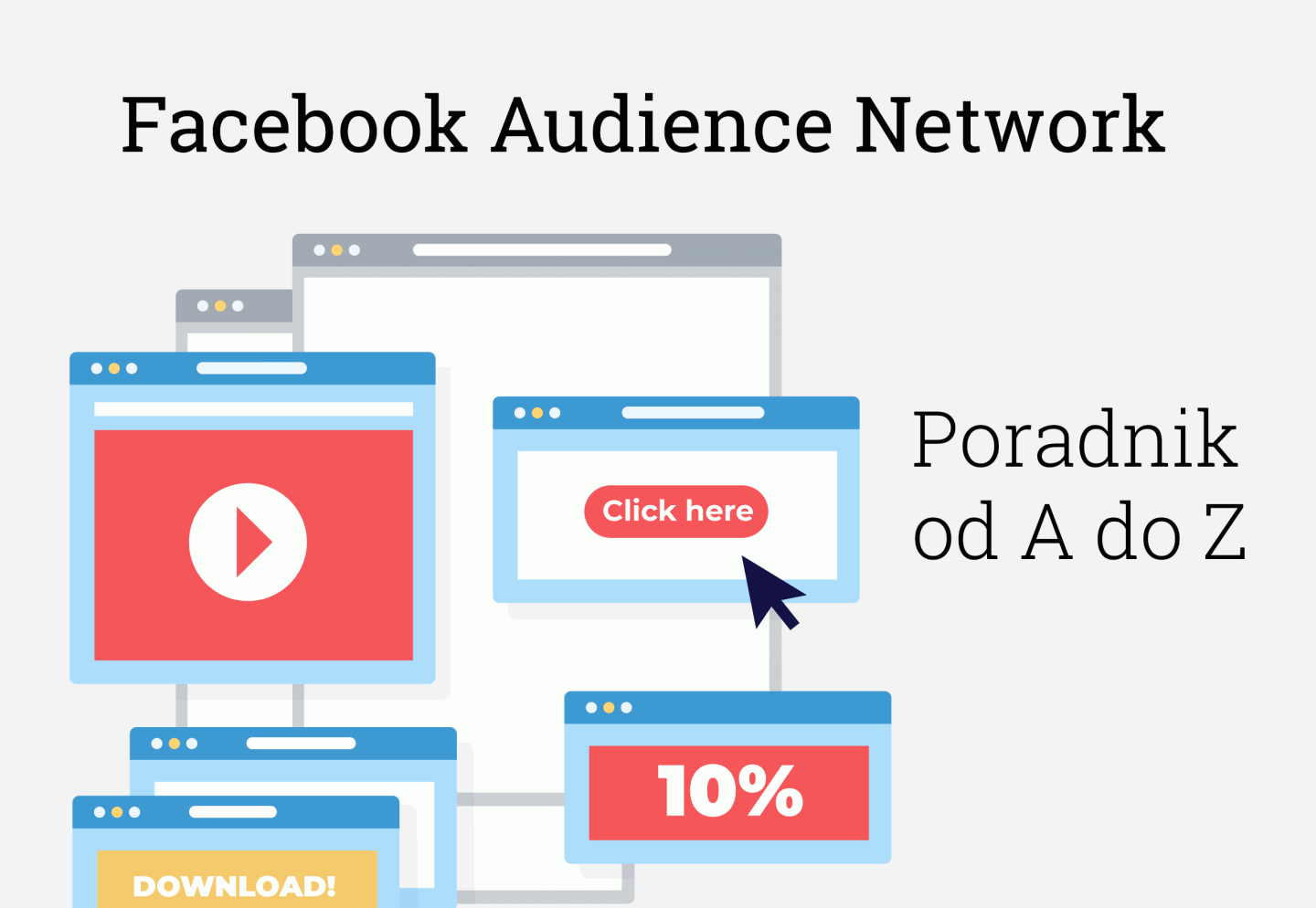 Facebook Audience Network Poradnik - cover photo